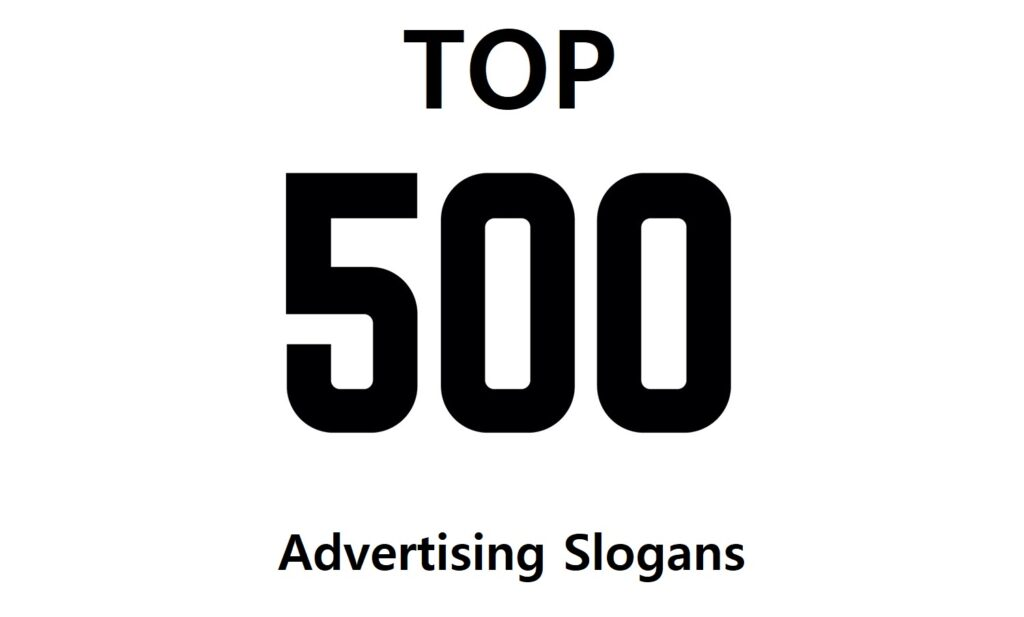 500 great taglines of all time
