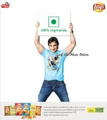 Saif Ali Khan Frito Lay's Advertisement