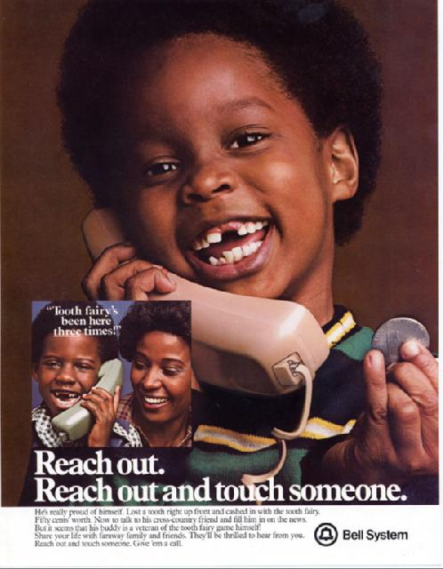AT&T Reach Out and Touch Someone ad won accolades