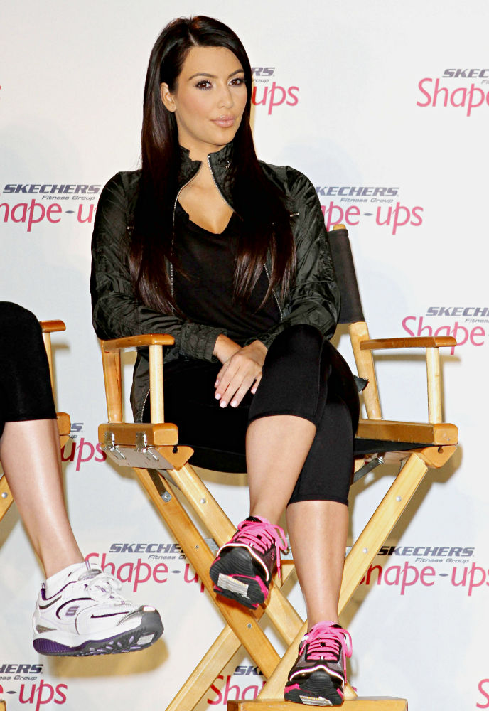 Kim Kardashian has become new Super Bowl brand ambassador for Skechers Shape-Ups NFL