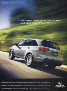 All New Acura MDX magazine ad8