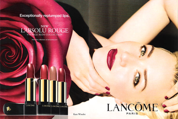 Kate Winslet Print Ad