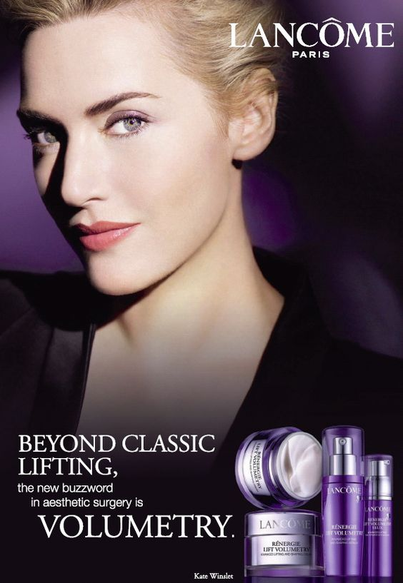 The incredibly beautiful actress exudes the exuberant and romantic qualities of the Lancôme brand