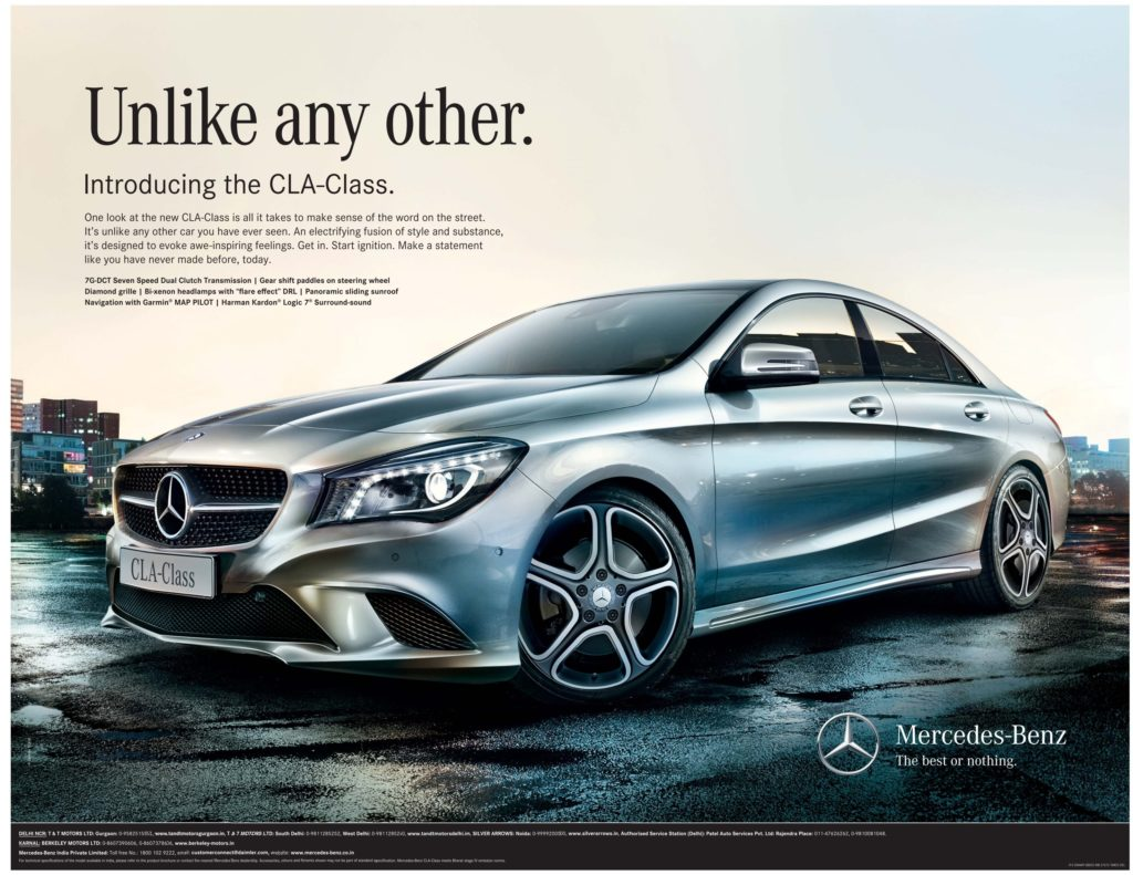 Mercedes-Benz-Unlike-Any-Other-advertising-the-best-or-nothing-slogan