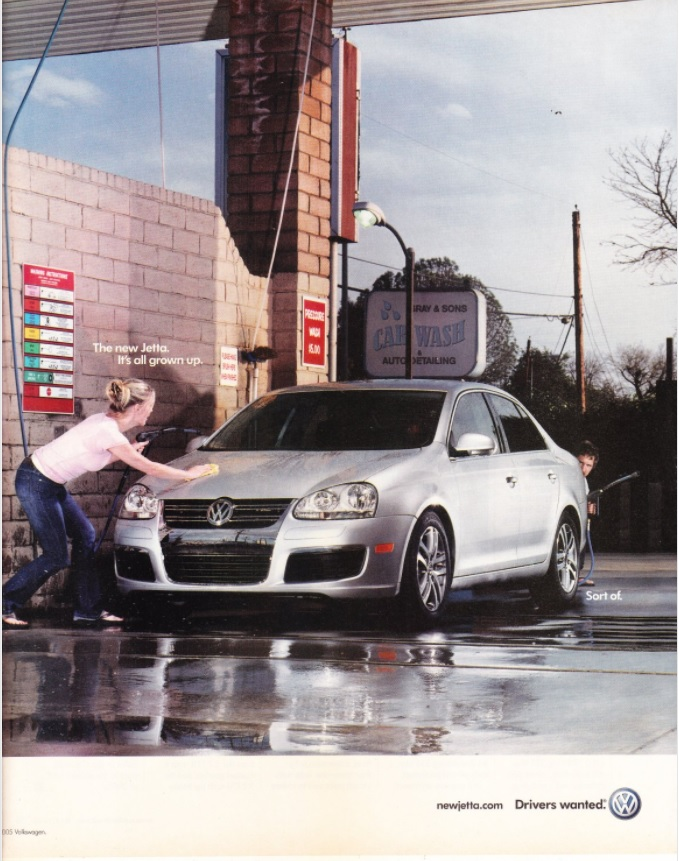 Volkswagen Drivers Wanted Advertising Campaign